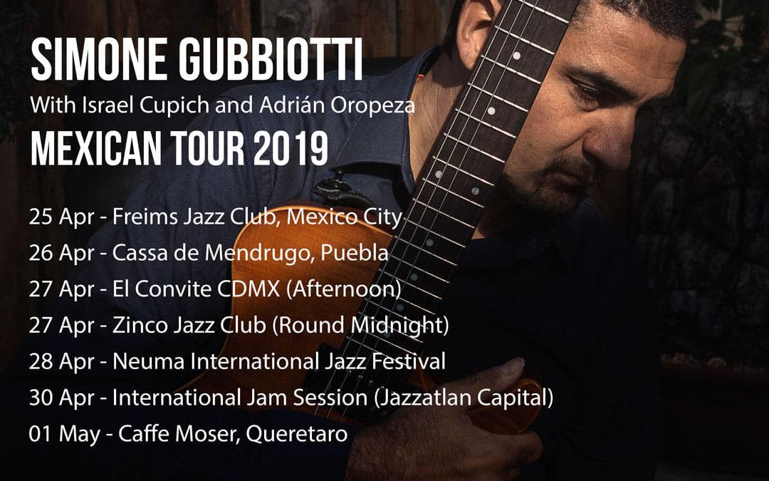 Jazz Beyond Borders en México con Simone Gubbiotti